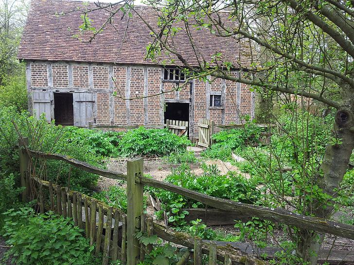 cottage, house, architecture, hut, building, rural, fairytale