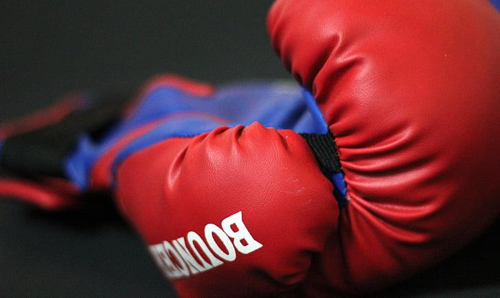 guants de boxa, guants, boxa, esports, arts marcials, esport, vermell