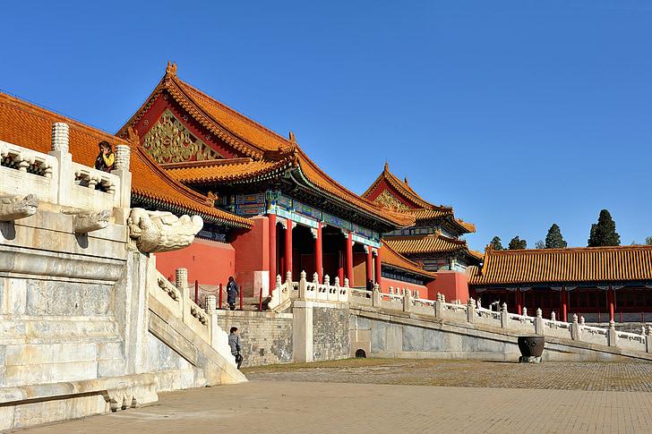 Peking, riikliku palace museum, Palace