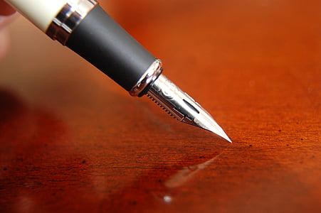 NIB, tinta, de la escritura, Caligrafía, pluma, manuscrito, documento