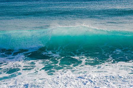 hullám, átlátszó, Lenyûgözõ, spray, hab, szél, látványos