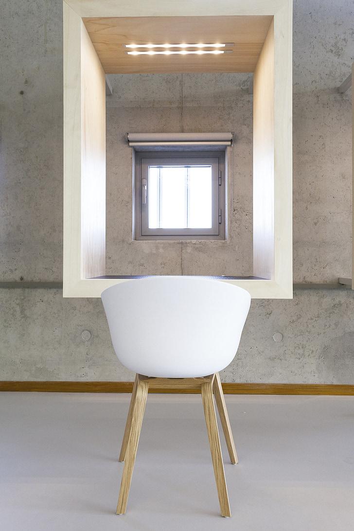 Windows, stoel, Indoor