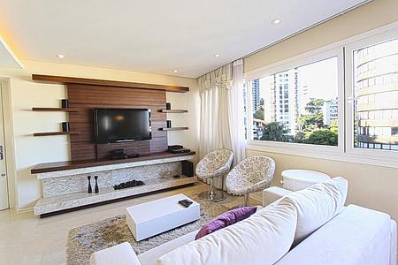 equipatge, decoració, sofà, Apartament, apartament modern, saló, decoració moderna
