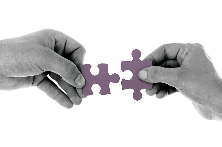 connectar, trencaclosques, estratègia, peces del trencaclosques, solucions de negoci, trencaclosques, trencaclosques