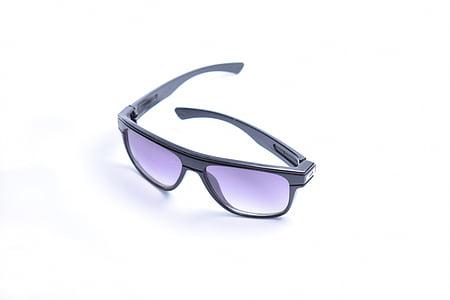 ulleres, pes de producte, producte, tir, reflexió, fons blanc, ulleres