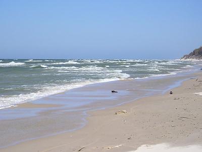 Mar Bàltic, Polònia, platja, Rowy, Spa, Mar, Llac