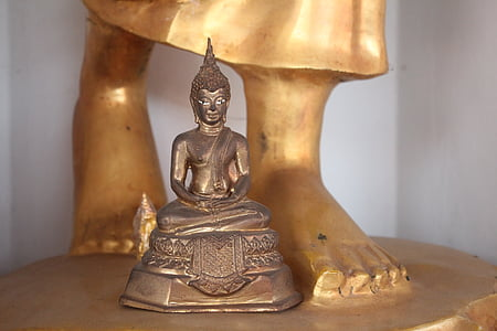 buddha, small, statue, buddhist, small buddhist