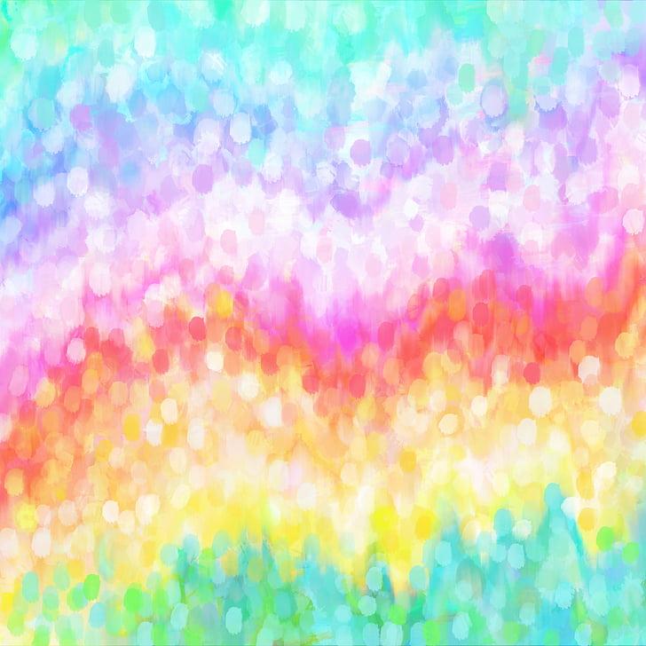 дъга, pontilism, фон, цветове, фон, цветен фон, фонове