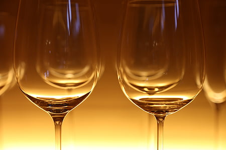 眼镜, 酒杯, 吃, 餐厅, 晚餐, 鸡尾酒, 含酒精饮料