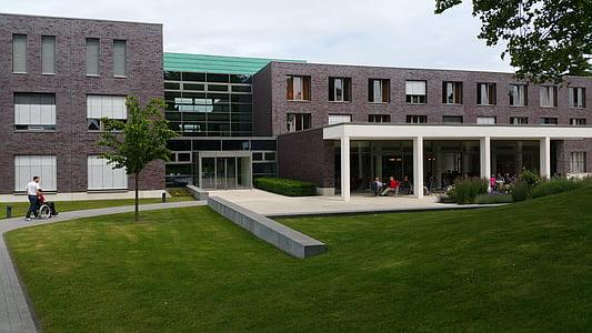 centre de rehabilitació, edifici, sendenhorst, Clínica, Hospital, teràpia, Ortopèdia