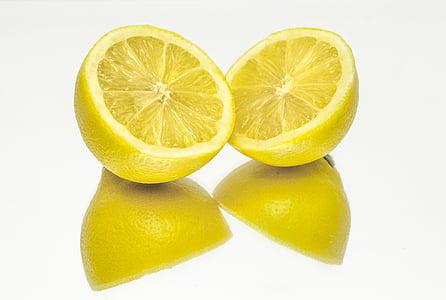 citron, jaune, agrumes, en bonne santé, fruits, alimentaire, vitamine
