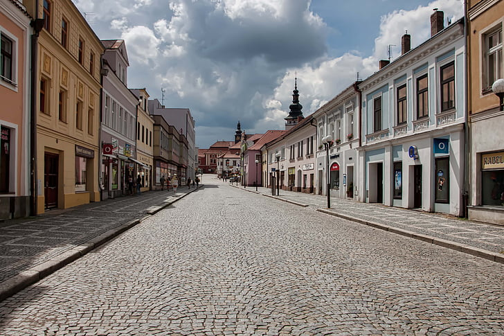 pelhřimov 4, czech republic, palacky street