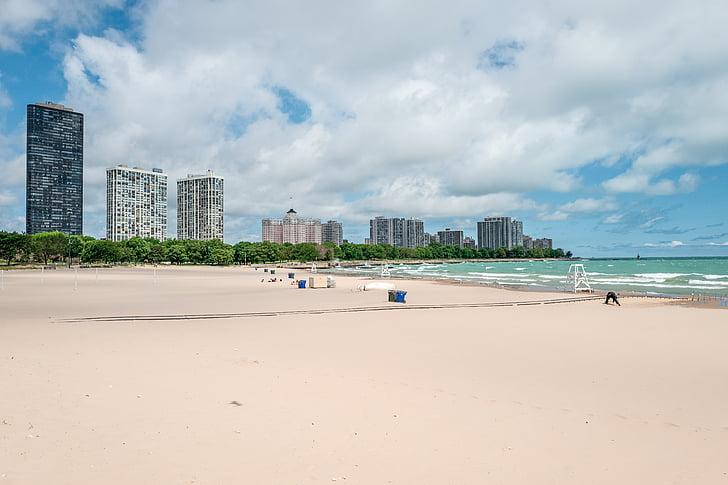 пляж, Будинки, океан, пісок, море, берег моря, Приморський
