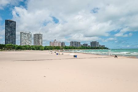 Bãi biển, tòa nhà, Đại dương, Cát, tôi à?, bờ biển, bên bờ biển