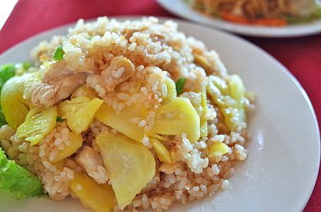 arròs, plat, aliments, asiàtic, àpat, gurmet, sopar
