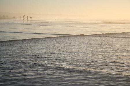 more, Beach, vody, Maroko, pobrežie, vlna, Ocean