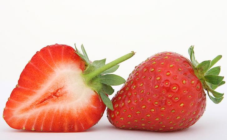 Berry, Sarapan, kalori, closeup, warna-warni, warna-warni, krim