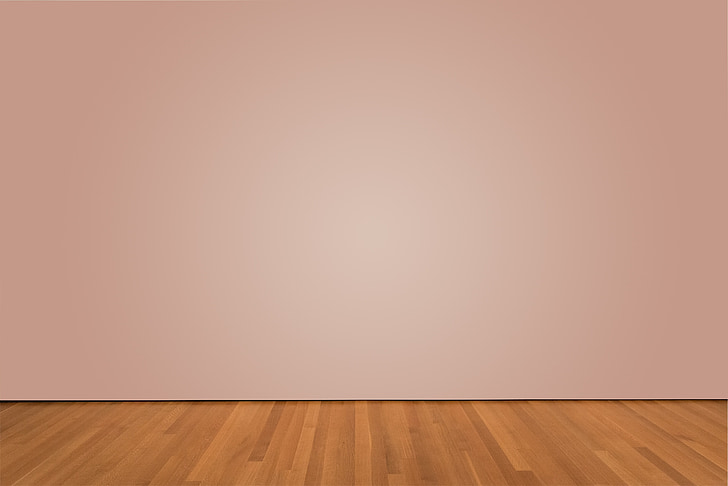 sienas, galerija, studija, izstāde, istabu, cietkoksnes, grīdas