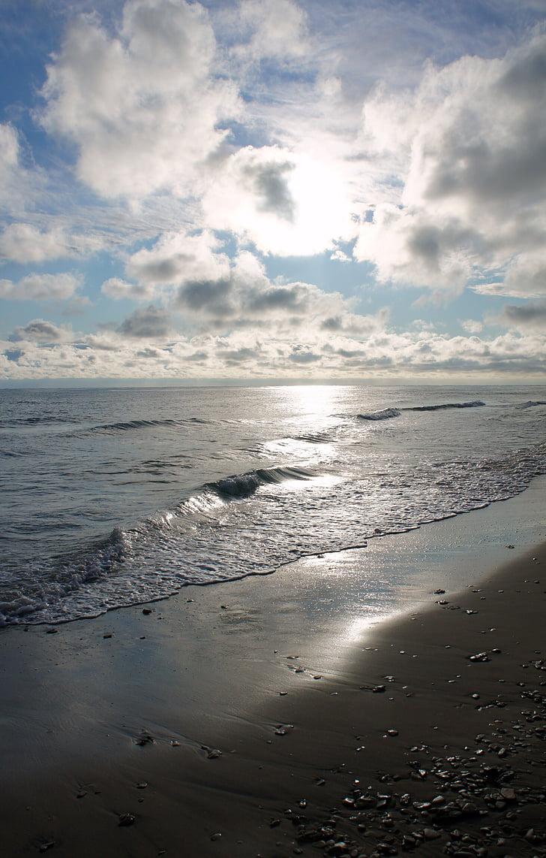 stranden sunrise, havet, solen stiger, soluppgång, Ocean, morgon, ljus