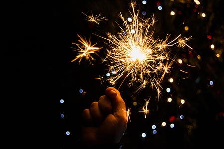 mitologia escandinava, Chispitas, Nadal, celebració, focs artificials - home objecte, foc - fenomen natural, nit