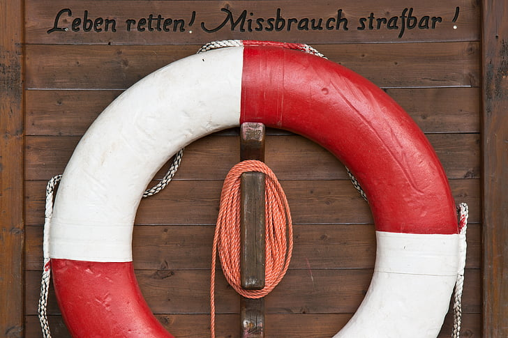 lifebelt, rescat, aigua de rescat, vermell, d'emergència, nedadors no, seguretat