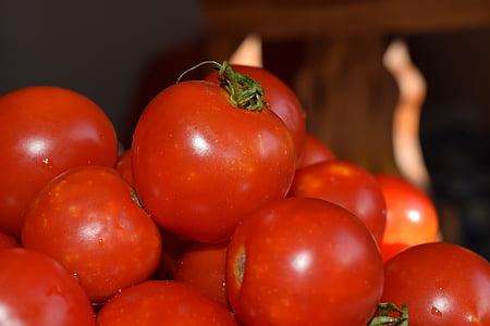 tomaten, rood, voedsel, groenten, Vegetarisch, Frisch, gezonde