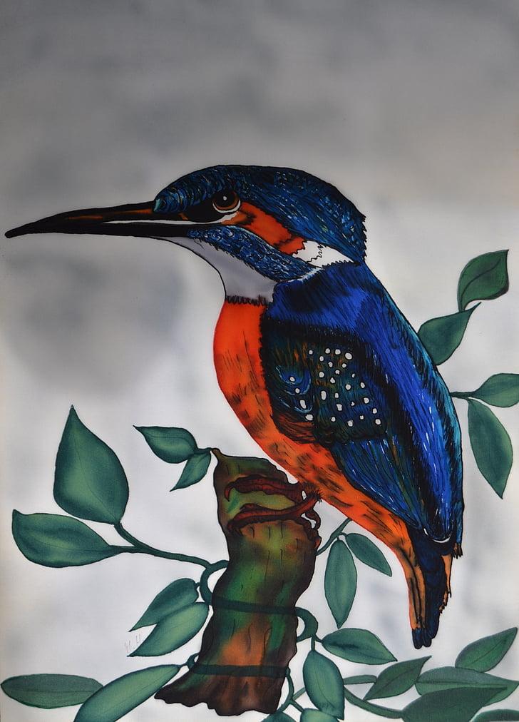 Vodomar, alcedo mi, svili, ptica, priroda, leteći dragulj, ptica 2009