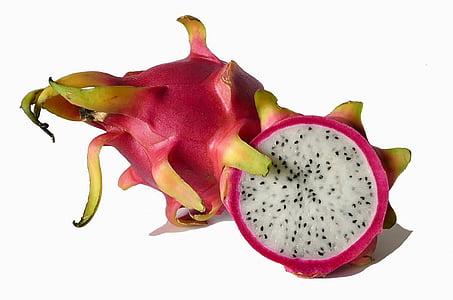 meyve, egzotik meyveler, Dragon meyve, pitaya, egzotik, yemek, tropikal meyve