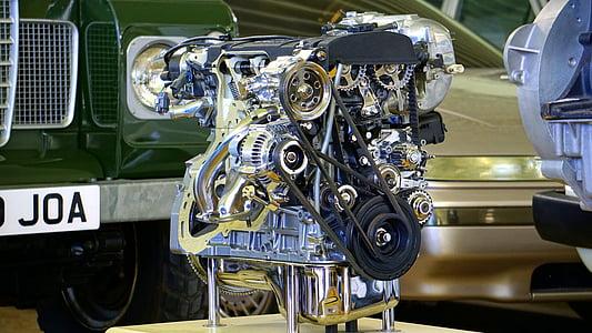 motore, auto, motore di automobile, motore, veicolo, Automatico, automobile