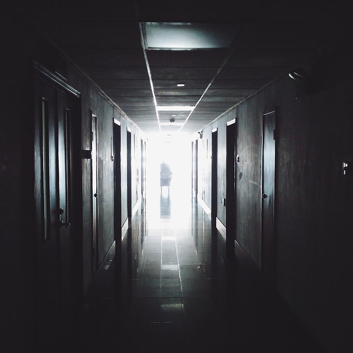 passadís, Hospital, mèdica, treball, Oficina, interiors, corredor