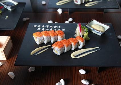 Maki rotllo, sushi, j, japonès, Sa, Japó, àpat