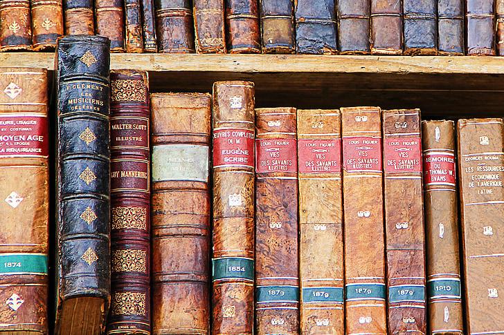 llibre, llibres, llibres antics, Biblioteca, literatura, utilitzat, antiquari