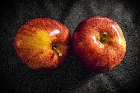 õunad, punased õunad, toidu, puu, viljad hooaja, punane, võimsus