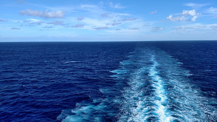 Karibien, kryssning, resor, havet, Ocean, Tropical, kryssningsfartyg