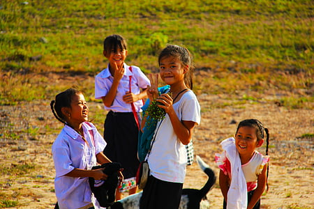 school kids, back to school, children, happiness, pupil, female, schoolgirl