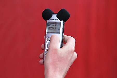 sound, micro, sound recording, hand, microphone, audio, device