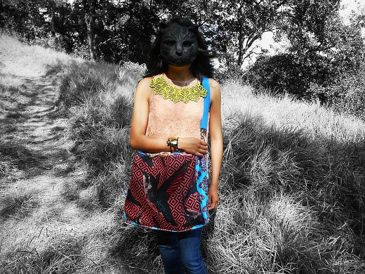 bag, hummingbird, women