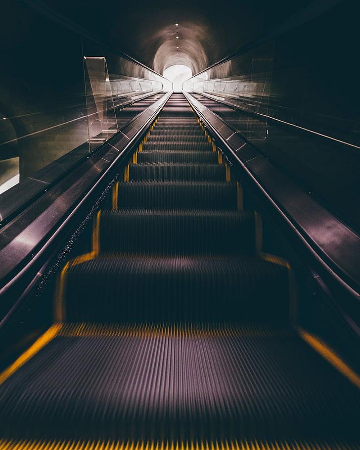 Lift, Lift, lépcsők, lépések, közlekedés, Carry, mozog