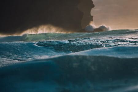 Mar, oceà, l'aigua, ones, natura, ona, navegar per
