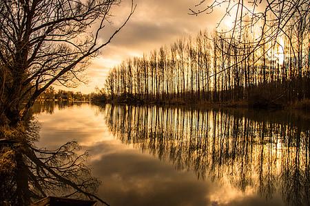 river, landscape, nature, nature landscape, water, pond, outdoor