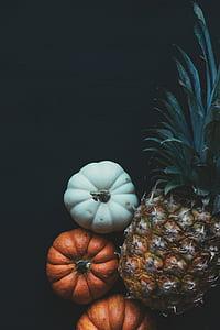 seni, latar belakang hitam, warna, gelap, dekorasi, Makanan, buah