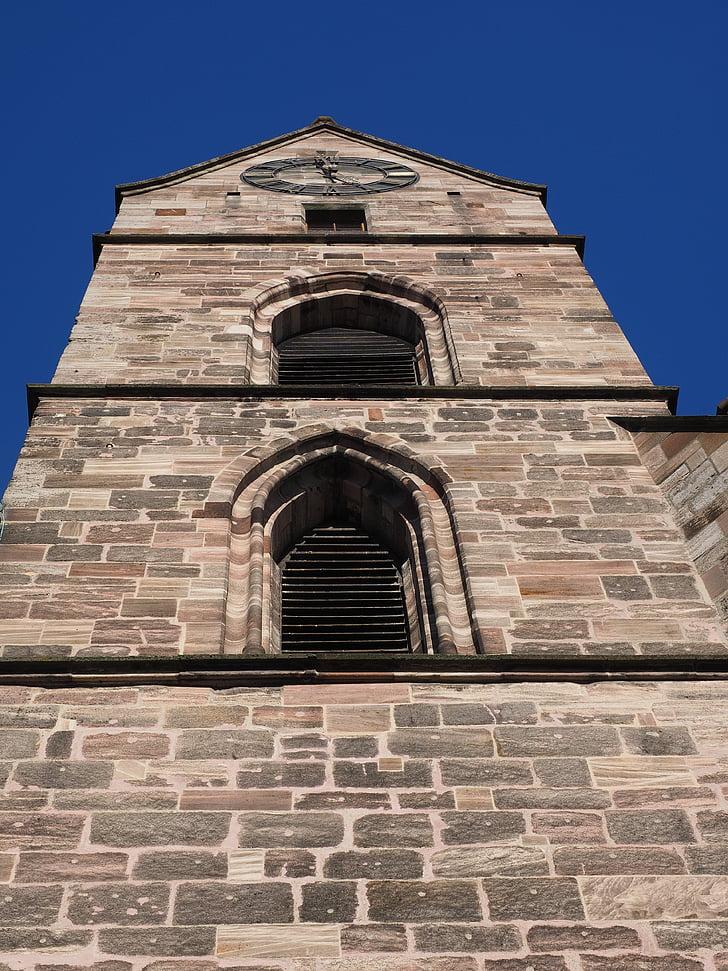 martin church, church, steeple, basel, evangelical-reformed, minster hill, parish church