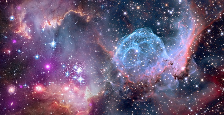 l'astronomia, weltraumteleskop de Hubble, univers de l'univers, NASA, cos celeste, creació, emergència