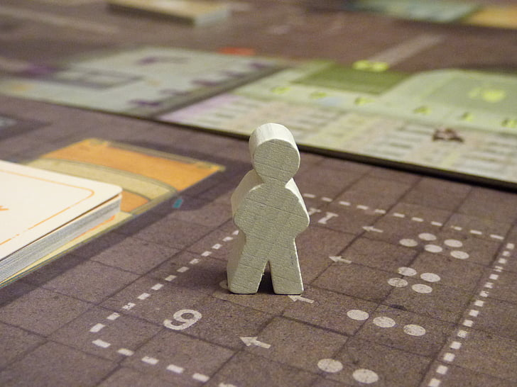 character, game, board game, planszówka, guy, token, tag