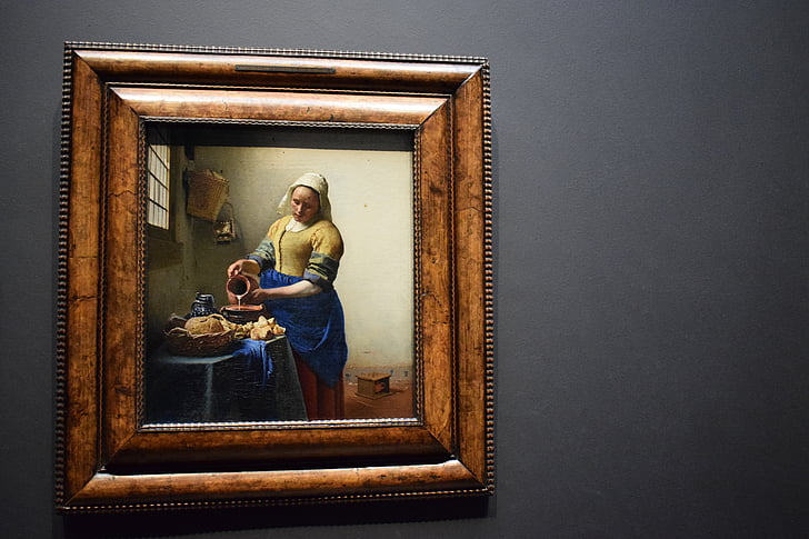 Museum, boksen, Amsterdam, meieriprodukter, Holland, Johannes vermeer, turisme