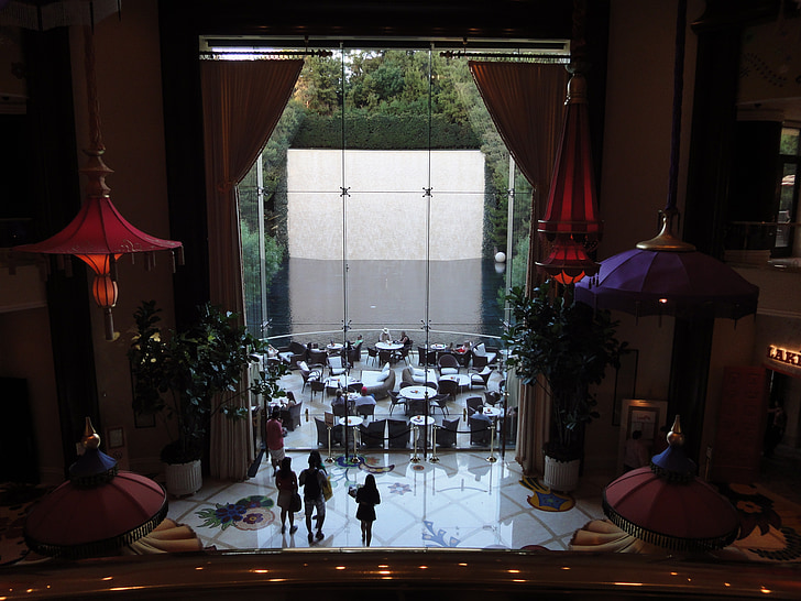 Wynn hotel, las vegas, interiér, Hotel, Nevada, Luxusné, moderné