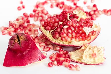 ρόδι, φρούτα, Σπόροι, τροφίμων, φρέσκο, βιολογικά, υγιεινή