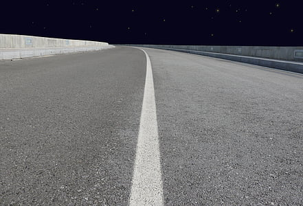 manera, l'autopista, nit, buit, línia, celebritats, llum