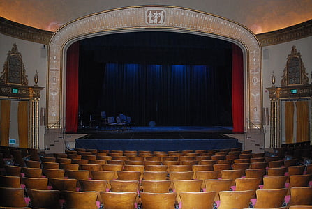 theatre, theater, stage, curtain, drama, theatrical, presentation