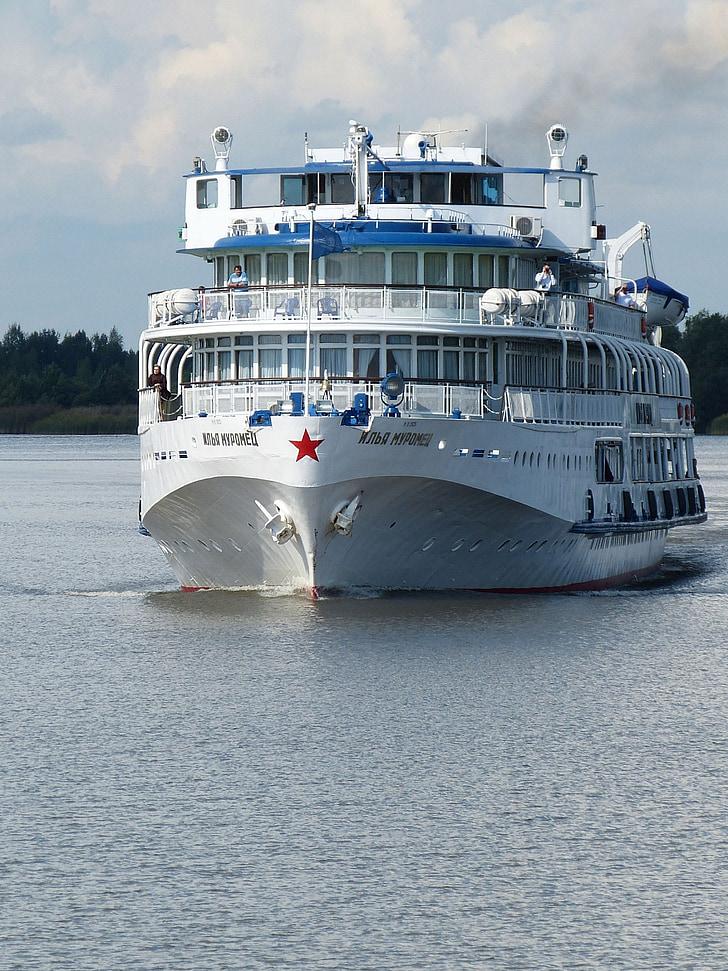 flodkryssning, Ryssland, kryssning, kryssningsfartyg, sjön ladoga, turism, fartyg